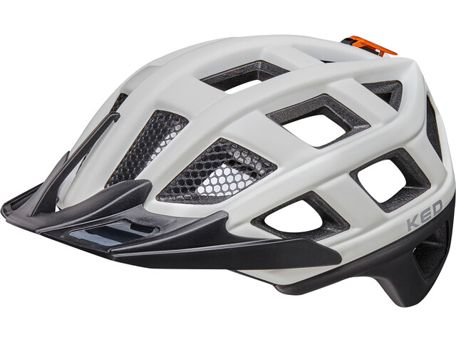 KED Crom - Casco de bicicleta - blanco/negro